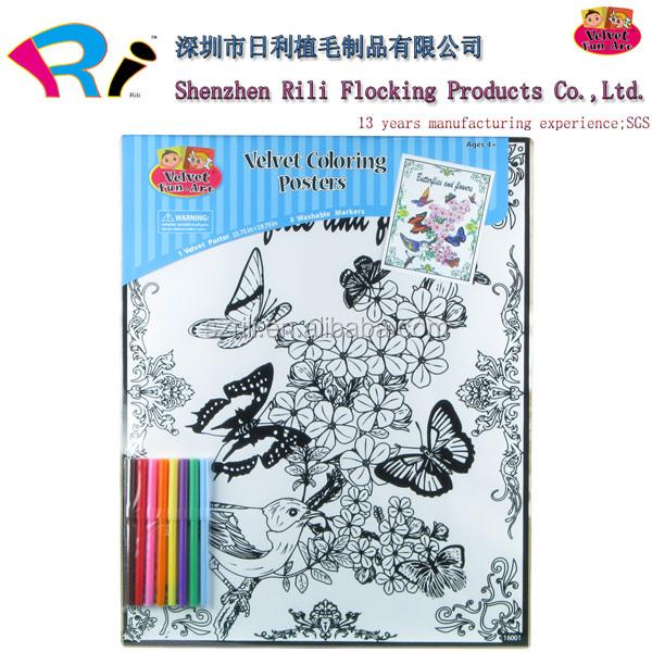 Fuzzy Poster Velvet Painting Wholesale, Velvet Painting Suppliers ...