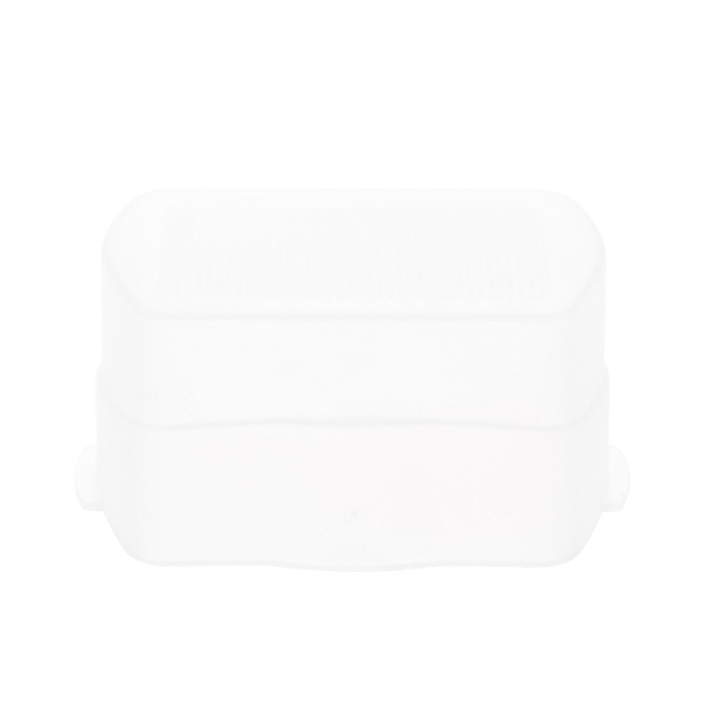 Andoer White Bounce Flash Diffuser Speedlight Head Soft Box Case Diffuser for YONGNUO YN560/YN560 II/YN560 III/YN560 IV/YN565EX/YN565EX II for Canon 580EX