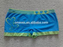 Girls in blue panties
