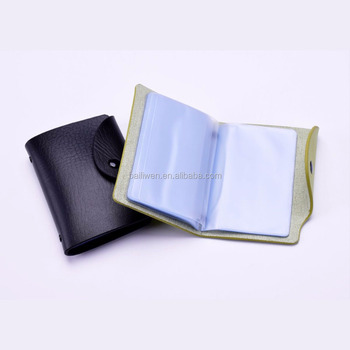 Pvc business name card holder with multiple sleeves buy name card pvc business name card holder with multiple sleeves colourmoves