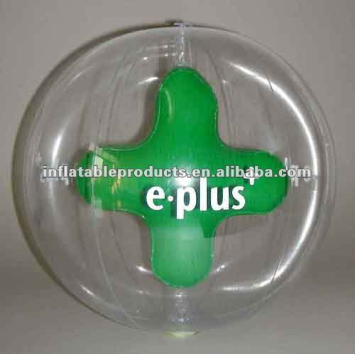 pvc promotional inflatable toy/beach ball