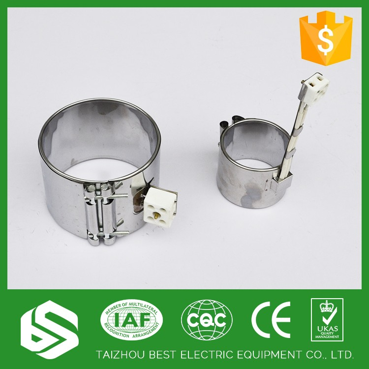 silver color convector mica band heater for kettle