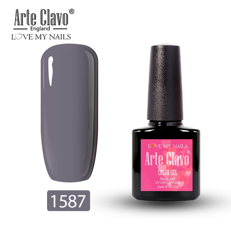 Arte Clavo верхнее покрытие Базовое покрытие гель лак для ногтей 10 мл Прозрачный УФ светодиодный отмачиваемый праймер гель лак для ногтей(Китай)
