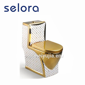 manufacturer china sanitary ware luxury new golden design one piece toilet prices