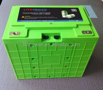 12V100ah High 2000 Cycles lifepo4 light weight battery packs