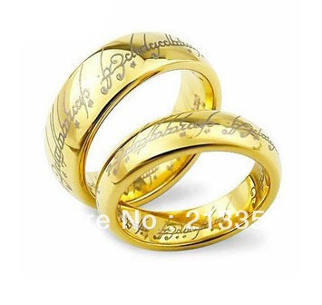 Lord Of The Rings Wedding Band.Luxury New Wedding Rings