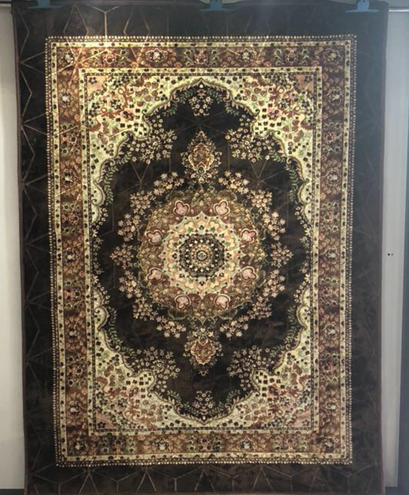 Wholesale 1.6 meters Newest design Raschel muslim prayer mat with best price