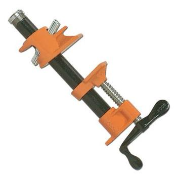 light duty quick release 1/2inch 3/4 inch woodworking pipe clamp with or without legs sliding pipe clamp
