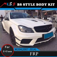 For Mercedes C-Class Body Kit C63 Black Series Style W204 Body Kits For Mercedes-Benz