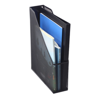 wholesale Supply Home school office Metal iron mesh wire Desk desktop Magazine holder for storage mail file A4 paper