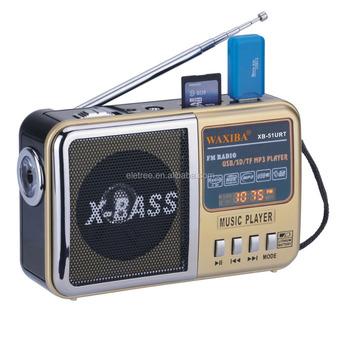 kitchen radio with handheld waxiba xb am fm radio with usb xb 51urt - Kitchen Radio
