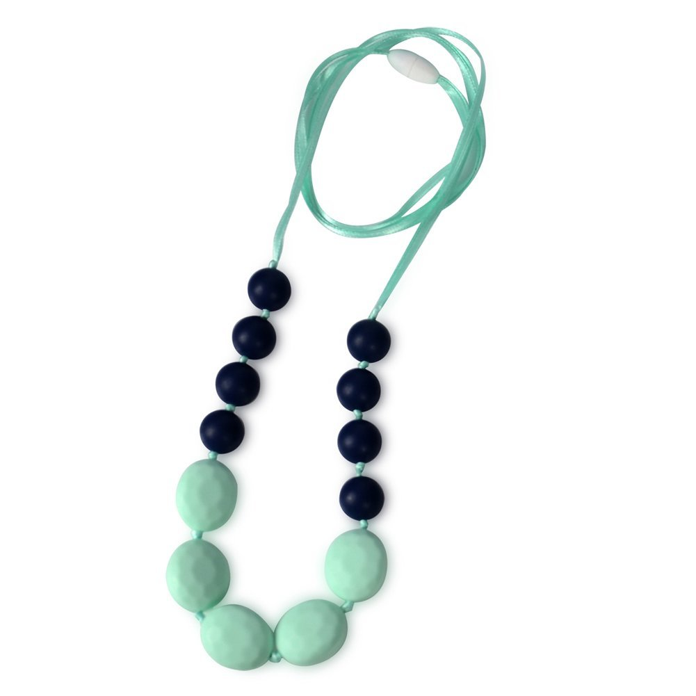 Get Quotations · Stylish Teething Necklace For Mom To Wear, Dolle BPA Free  Organic Silicone Teether For Baby