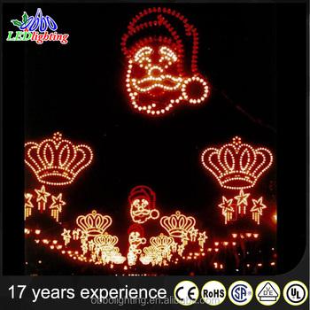 Custom Commercial Exterior Led Christmas Light Street Decorations ...