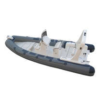 CE Certificate Inflatable Fiberglass Rowing Boat Factory Price 20ft