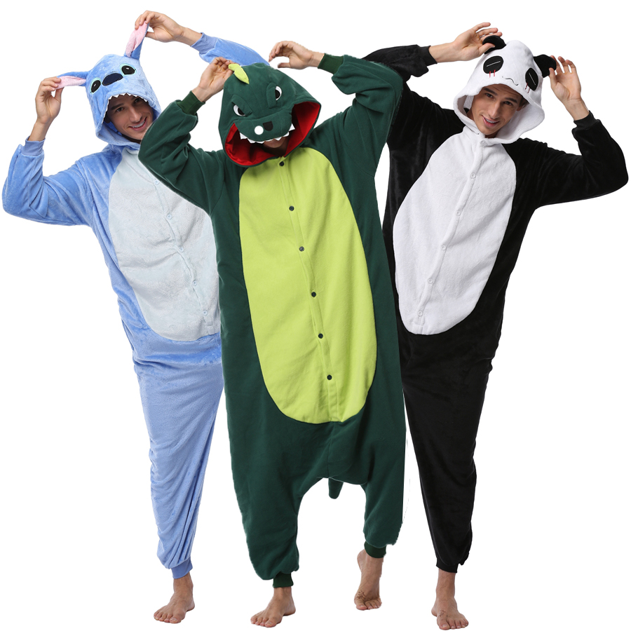 SNUG: These mens adult onesie pajamas are made using ultra-soft Shop by Category. Men's Novelty Sleep & Loungewear. Men's Thermal Underwear Union Suits. Men's Pajama Sets. Women's Novelty Sleep & Loungewear. Pacman Gamer Adult Novelty Hooded Onesie Pajama with Detachable Pieces. by Pac-Man.