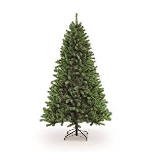 Puleo International 7.5 ft. Unlit Northern Fir Artificial Unlit Christmas Tree