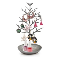 Home decoration metal tree shape jewelry display stand