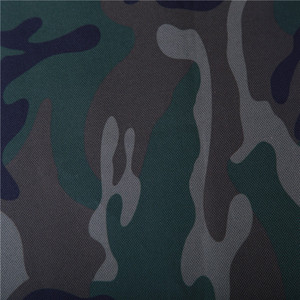 100% Polyester Roll of Waterproof Camouflage Fabric