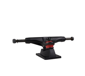Pro level gravity casting skateboard truck in powder coasting surface treatment with hollow kingpin