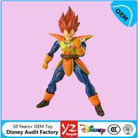 OEM Anime Dragon Ball Z action figures toys, custom super Saiyan Vegeta pvc figurines from Disny Audit Factory