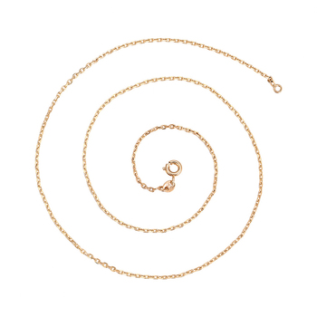45428 Xuping fashion jewelry Environmental Copper necklace 18K gold color plated chain necklace
