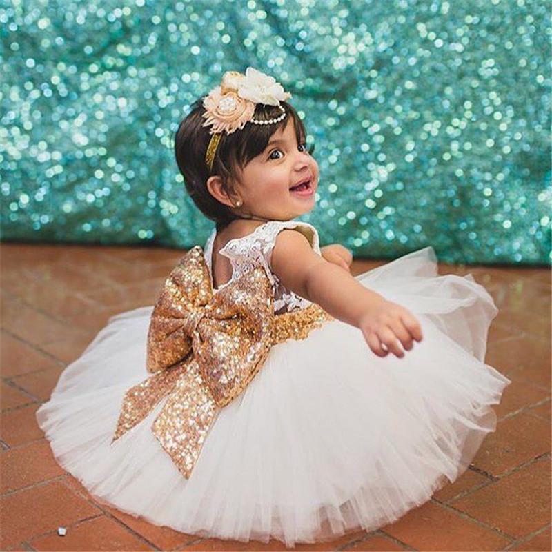 8159d742f65a 2019 Mikrdoo Sweet Princess Dress Kids Baby Girl Sleeveless Evening ...