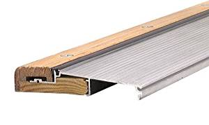 M-D Building Products 78600 1-1/8-Inch by 5-5/8-Inch - 36-Inch TH394 Adjustable Aluminum and Hardwood Sill Inswing, Mill by M-D Building Products