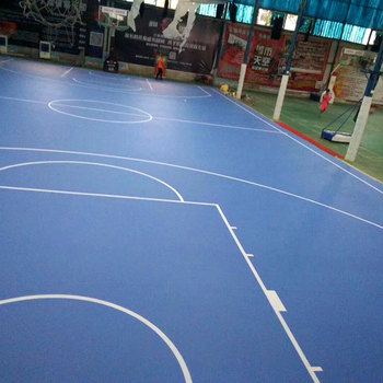 Shock Absorption 4.5mm Thick Indoor Basketball Gyms For Sale - Buy ...