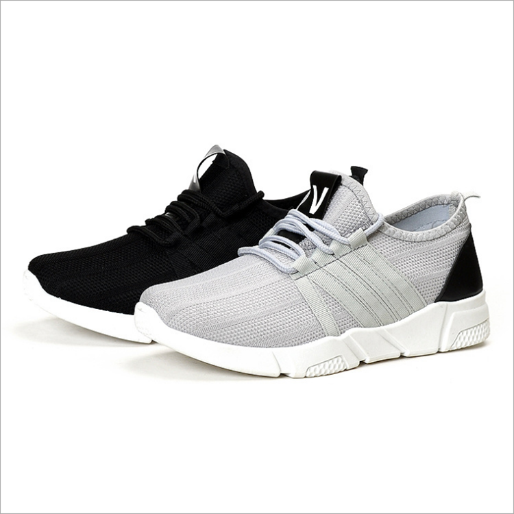 Breathable fashion trainers male sneakers flat mens mesh shoes