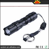 Mini Waterproof Flashlight 1101 Police 3W Torch Flashlight