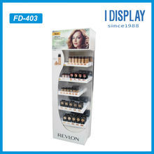 Supermarket equipment folding cardboard display rack for convenient use