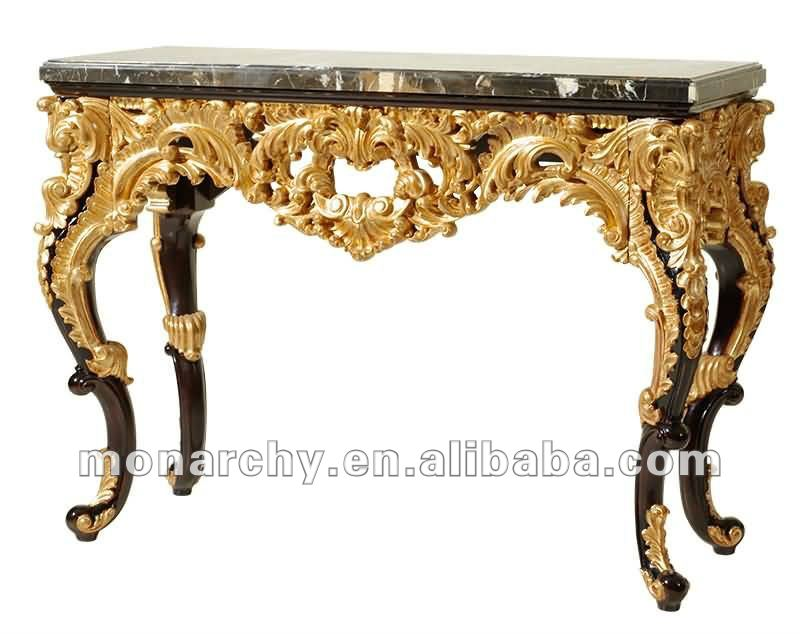 Cj601-3 Neo-classic Solid Wood Mirrored Console Table - Buy Mirrored  Console Table,Wood Carved Console Table,Marble Console Table Product on  Alibaba