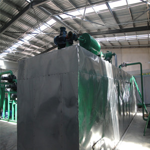ZSA series Used black lube oil treatment distillation plant