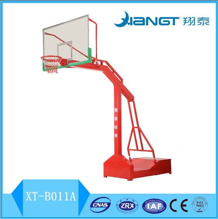 China Manufacturer Outdoor Gym equipment adjustable basketball hoops/stands/system