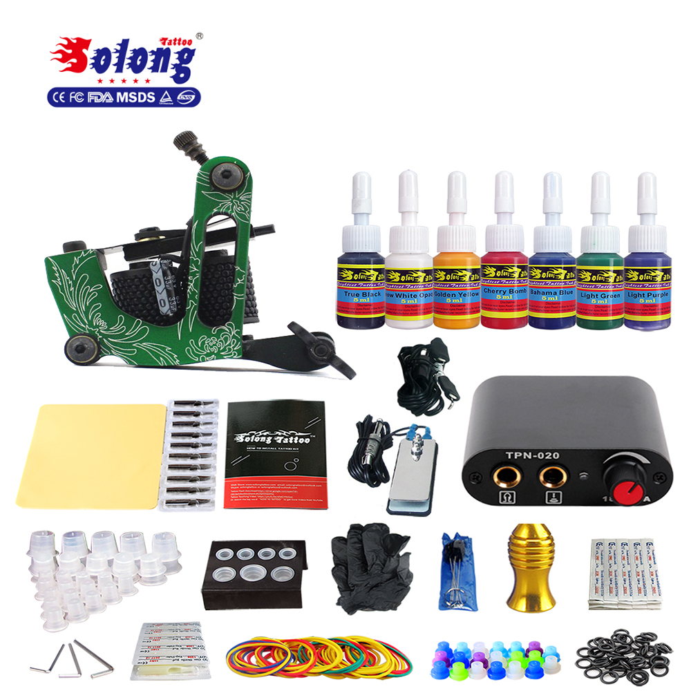 Beginner switching power supply permanent makeup kit tattoo machine