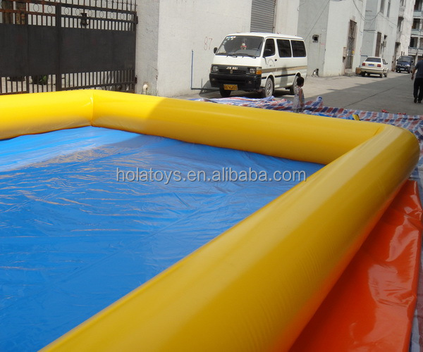 Hola PVC large inflatable swimming pool/swimming pool equipment