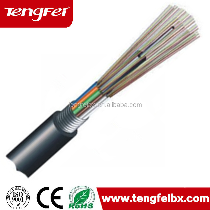 96 core GYTS/GYTA Stranded loose Tube Outdoor Fiber Optic Cable