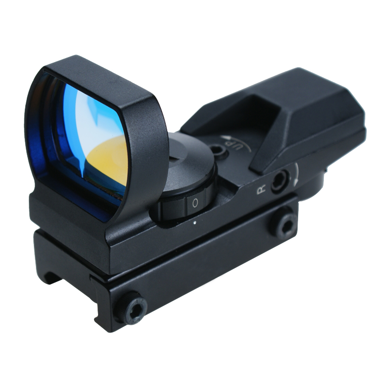 1x22x33 Four types reticle pattern reflex sight scope high resolution red dot sight