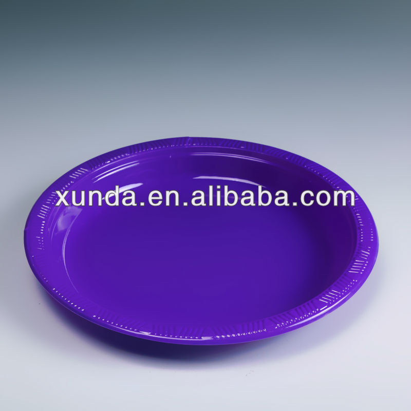 10 inch ps disposable plastic plate
