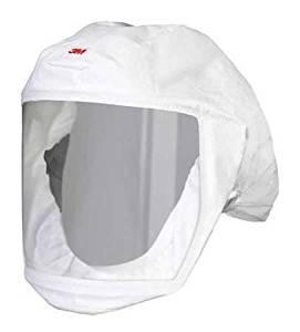 3m S-133s-5 Versaflo(tm) Headcover, S/m, White, Pk 5