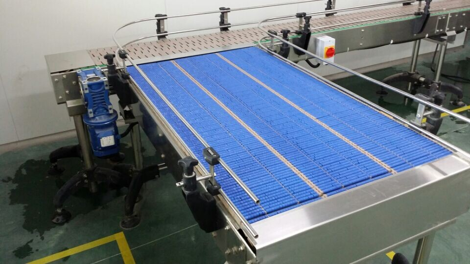 Lbp821 Plastic Chain Conveyor Roller Table Top Chain
