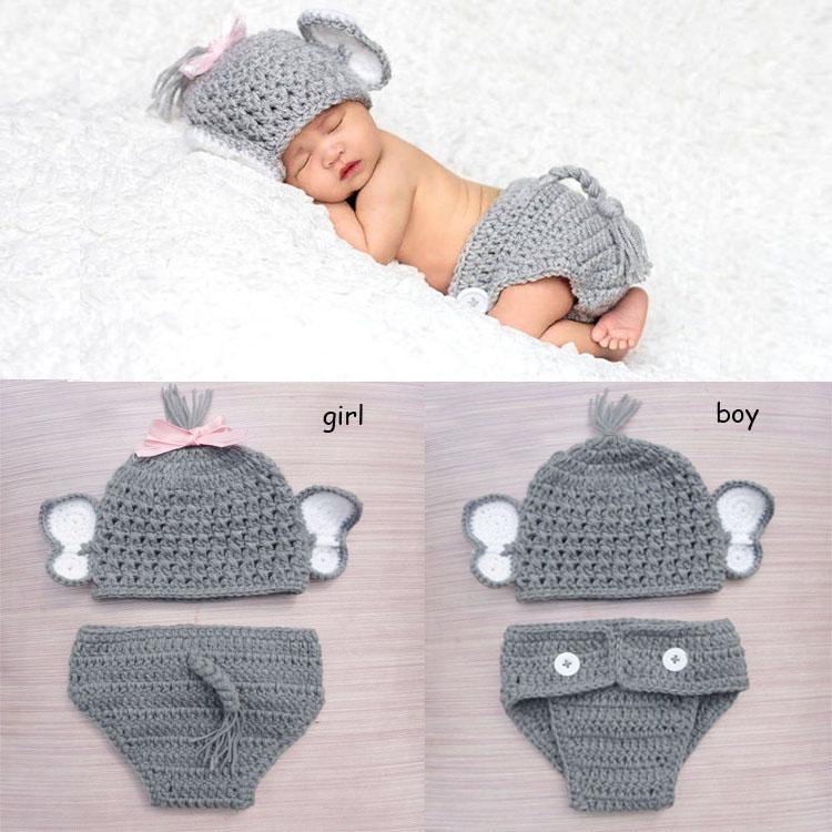 Detail Feedback Questions about Newborn Baby Boy Girl Crochet ... 03bac569e08