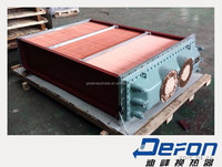 marine engine use plate fin type B152-C122 copper tube DS160 air heat exchanger cooler unit system