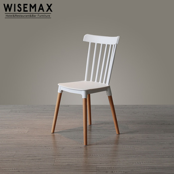 Admirable High Quality Wholesale Dining Chair Wooden Legs Polypropylene Plastic Windsor Chairs Chair Used For Restaurant View Plastic Dining Chair Wisemax Ncnpc Chair Design For Home Ncnpcorg