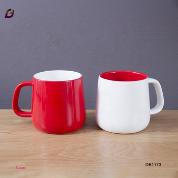 Best 350ml ceramic mug white