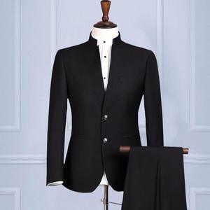 MTM bespoke men suit front neck design of suits