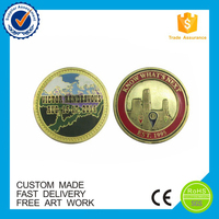 2016 Customed design enamel coin for sale