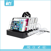 Best USB charging dock Station with 50w 6-port usb charging station