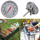Stainless Steel 50-500C BBQ Smoker Grill Thermometer