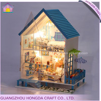 Popular DIY wooden dollhouse small house design plans
